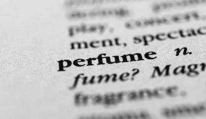 Perfume glossary