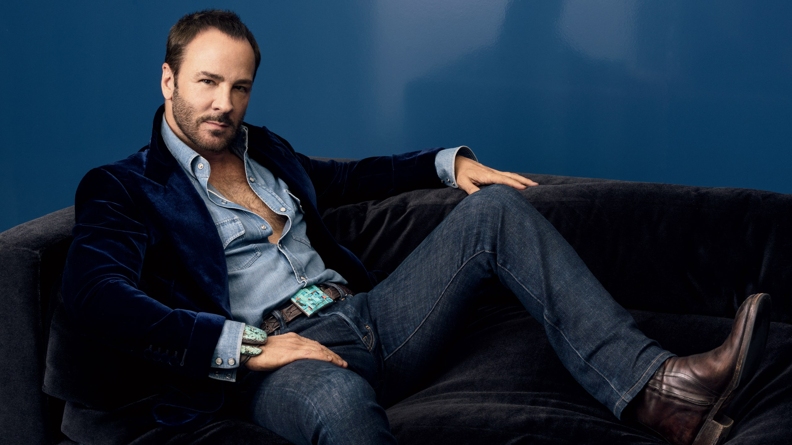 Tom ford casually drops bombshell he is married to richard buckley