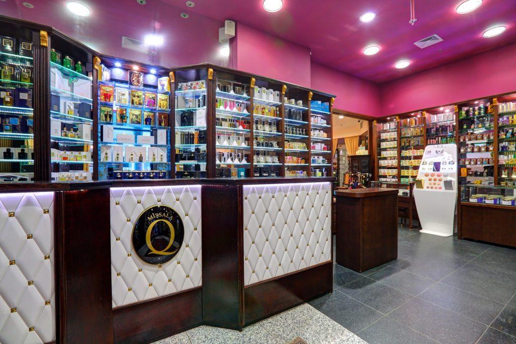 Merriott Hotel perfume shop